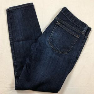 J. Crew toothpick skinny ankle jeans size 26